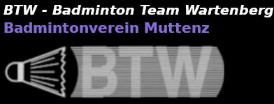 BTW – Badminton Team Wartenberg